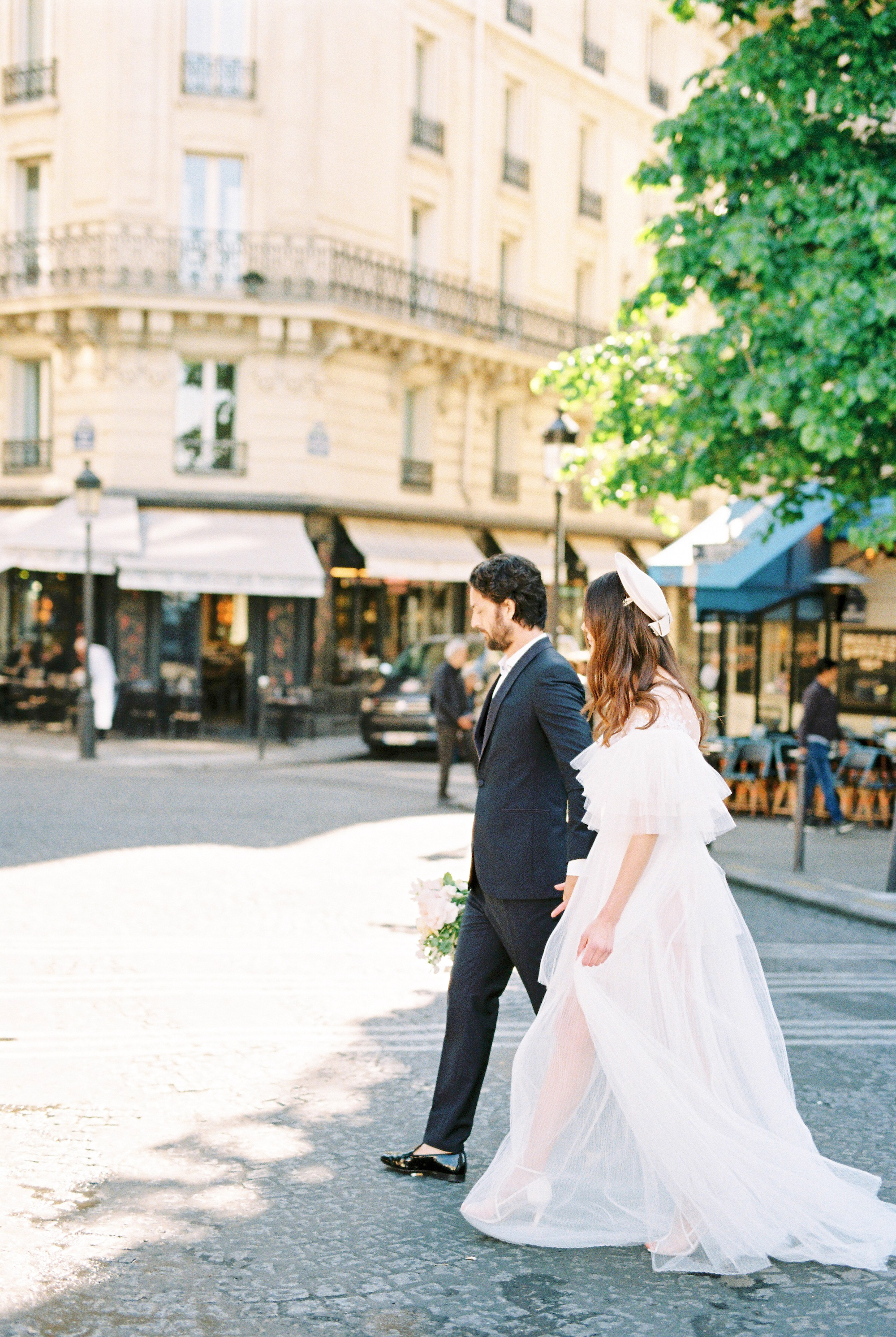 walk the streets of paris